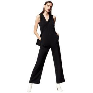Aritzia Babaton Dunlop Jumpsuit Black